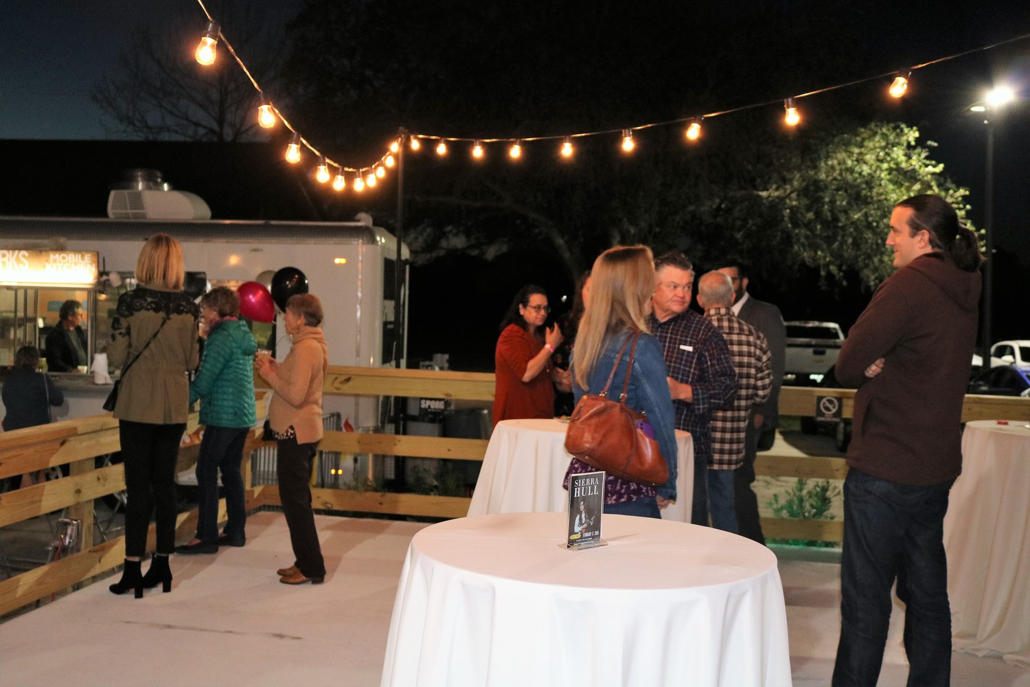 Guests take in the new terrace at the Ponte Vedra Concert Hall Feb. 2.