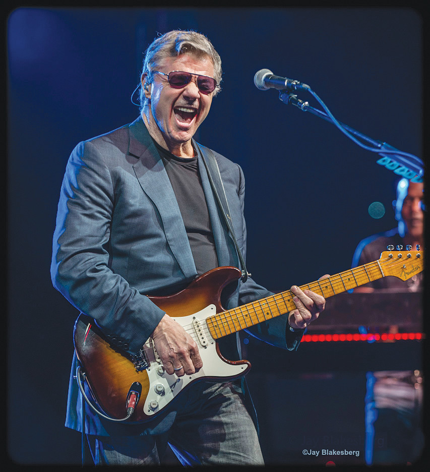 The Steve Miller Band and Peter Frampton will perform at the St. Augustine Amphitheatre Friday, July 20.