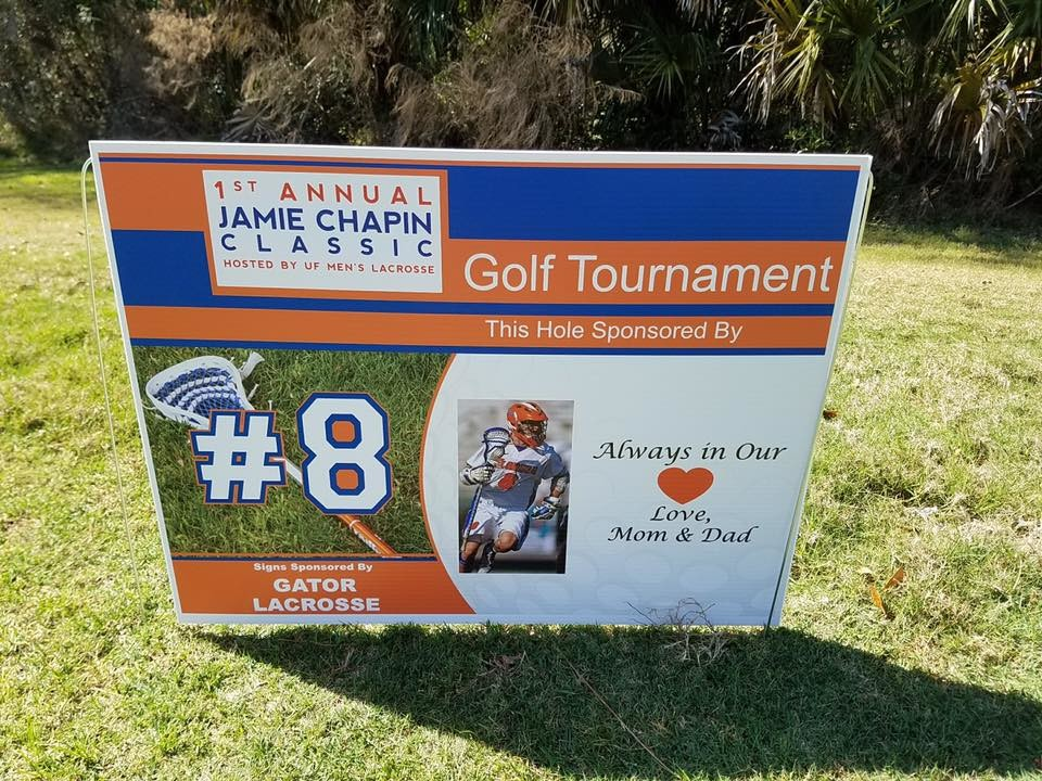 The 2nd Annual Jamie Chapin Classic will be held Saturday, March 17, at the Ponte Vedra Inn & Club.