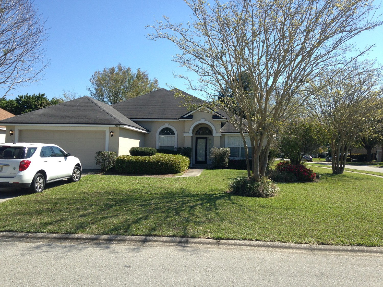 Clark lives at 1600 Merroway Lane in Ponte Vedra's Walden Chase neighborhood.
