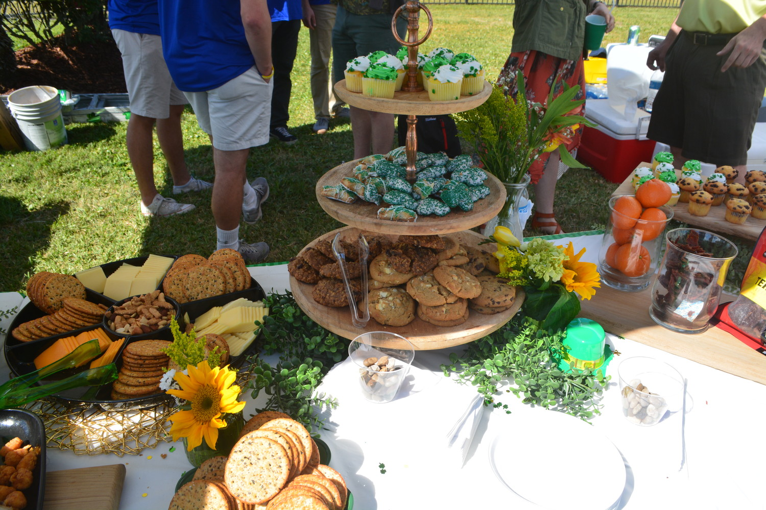 Cookies and assorted snacks at the Jamie Chapin Classic