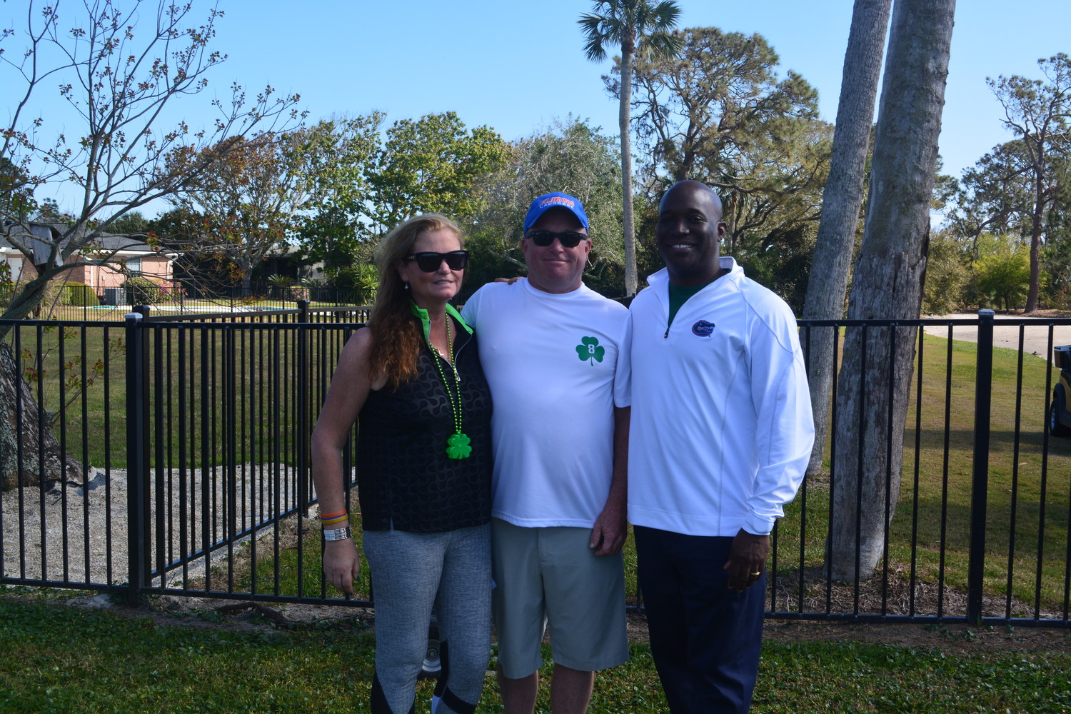 Deb and Sandy Chapin gather with Dr. Duane Mitchell at the second annual Jamie Chapin Classic golf tournament March 17 at the Ponte Vedra Inn & Club.