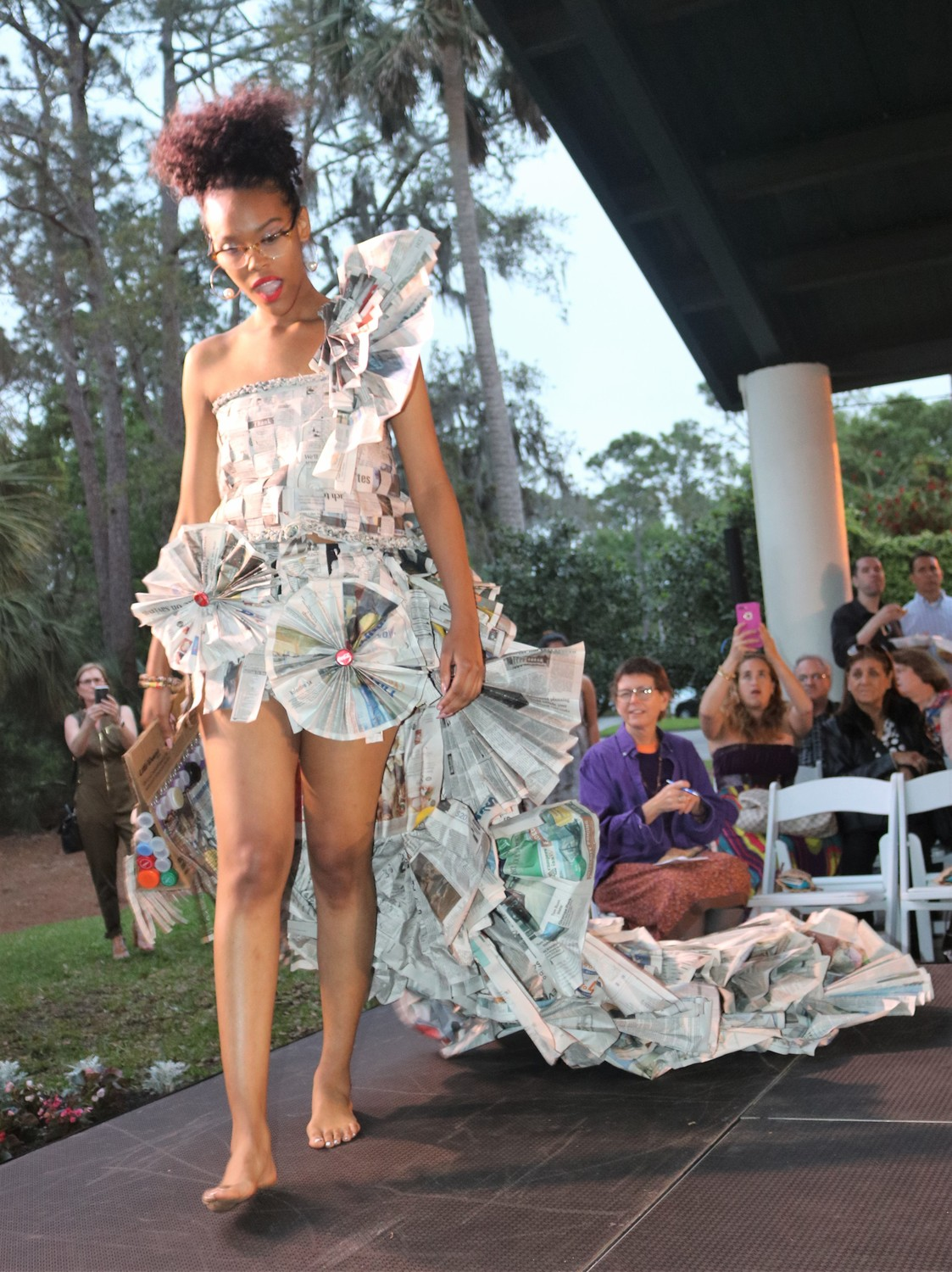Love Your Mother Eco Fashion Show Makes Ponte Vedra Beach Debut The Ponte Vedra Recorder