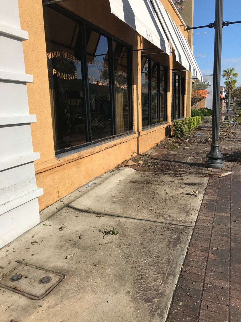 Bistro Aix sustained substantial damage from Hurricane Irma in September 2017 and was forced to close temporarily.
