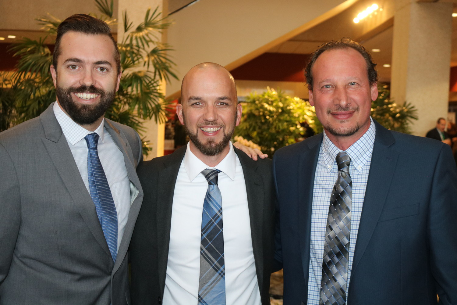Chad Morrow, Ryan Norton and Luigi Chiaia of Southern Glazer's Wine & Spirits