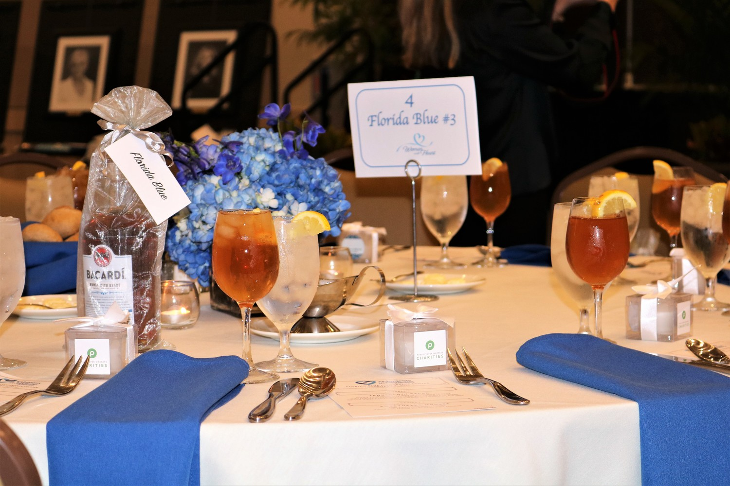 Florida Blue was the presenting sponsor of Volunteers in Medicine's second annual Women With Heart Luncheon held Wednesday, Feb. 7.