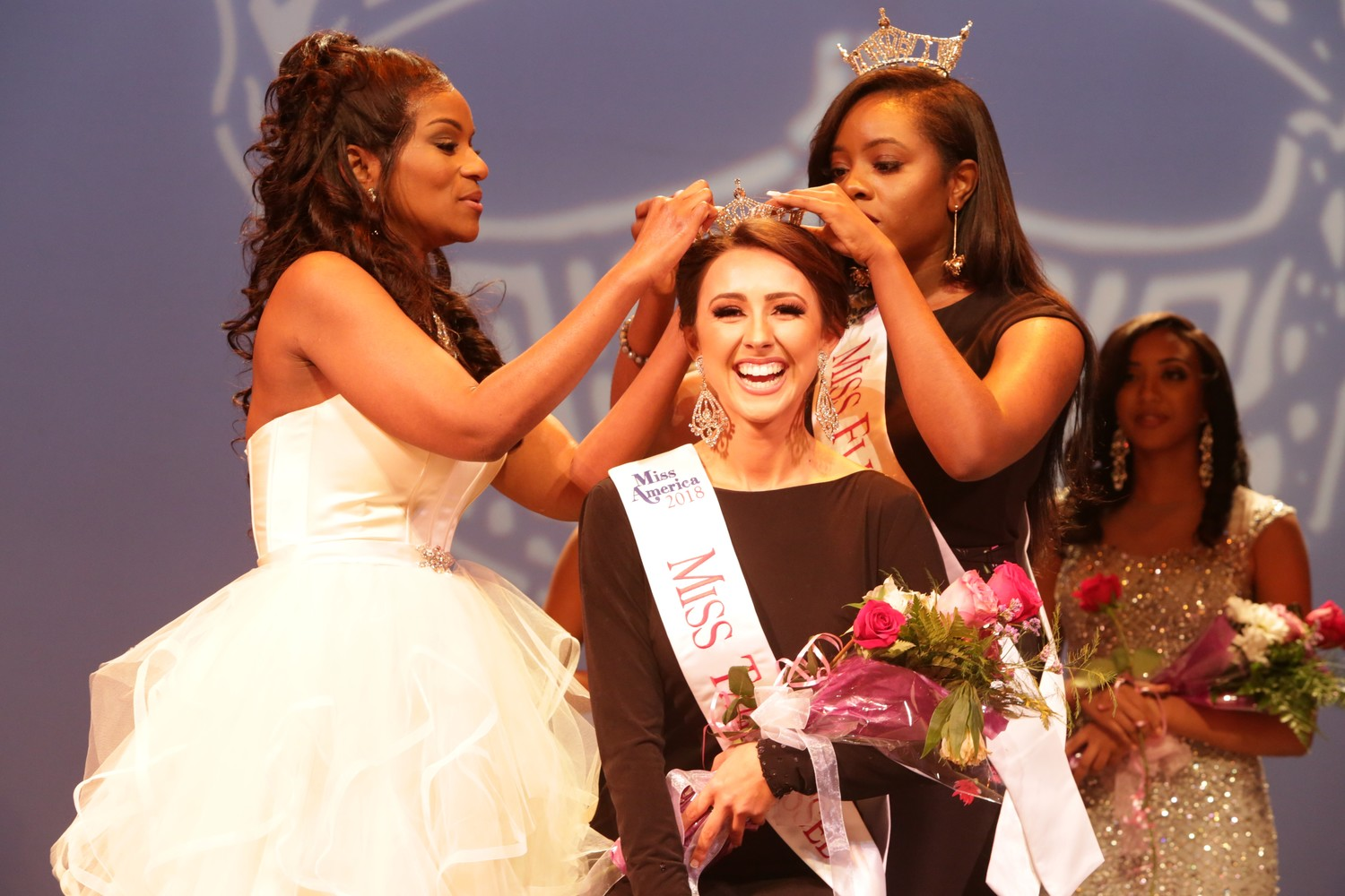 Ponte Vedra Beach native Leila Sabet is crowned Miss Tallahassee 2018 by the Miss America Organization.