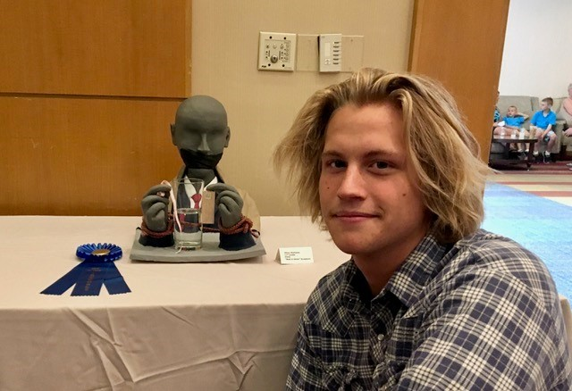 Ponte Vedra High School student Ethan Mathews wins Best in Show.