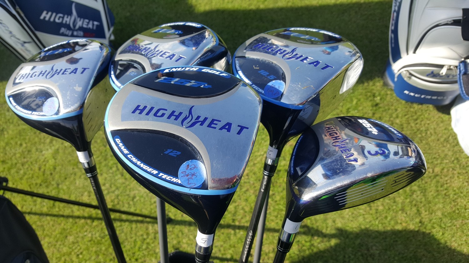 High Heat 257+ is a new innovation in clubface design.