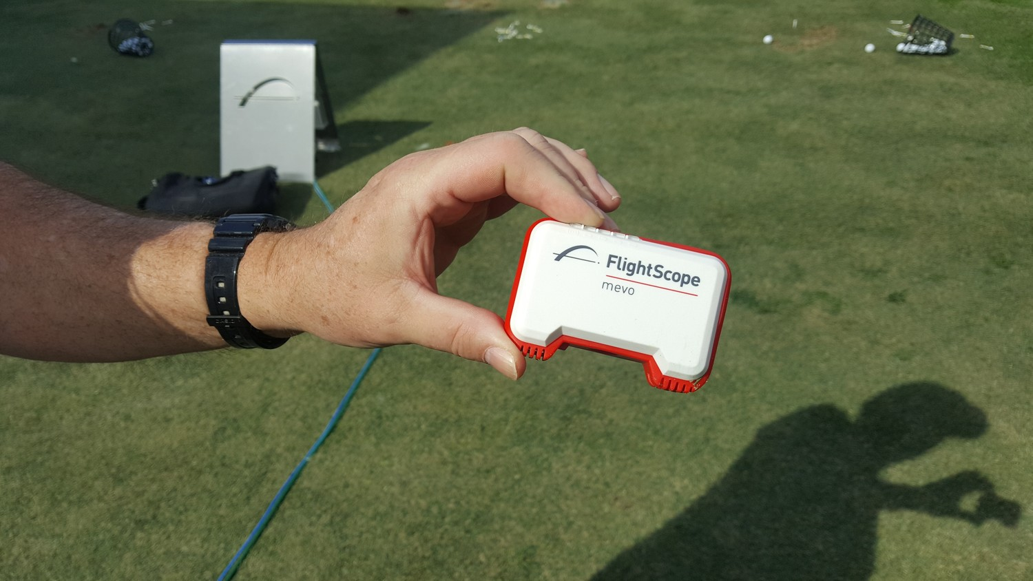mevo by FlightScope is a new, modestly priced ball flight tracker that provides information on shots.
