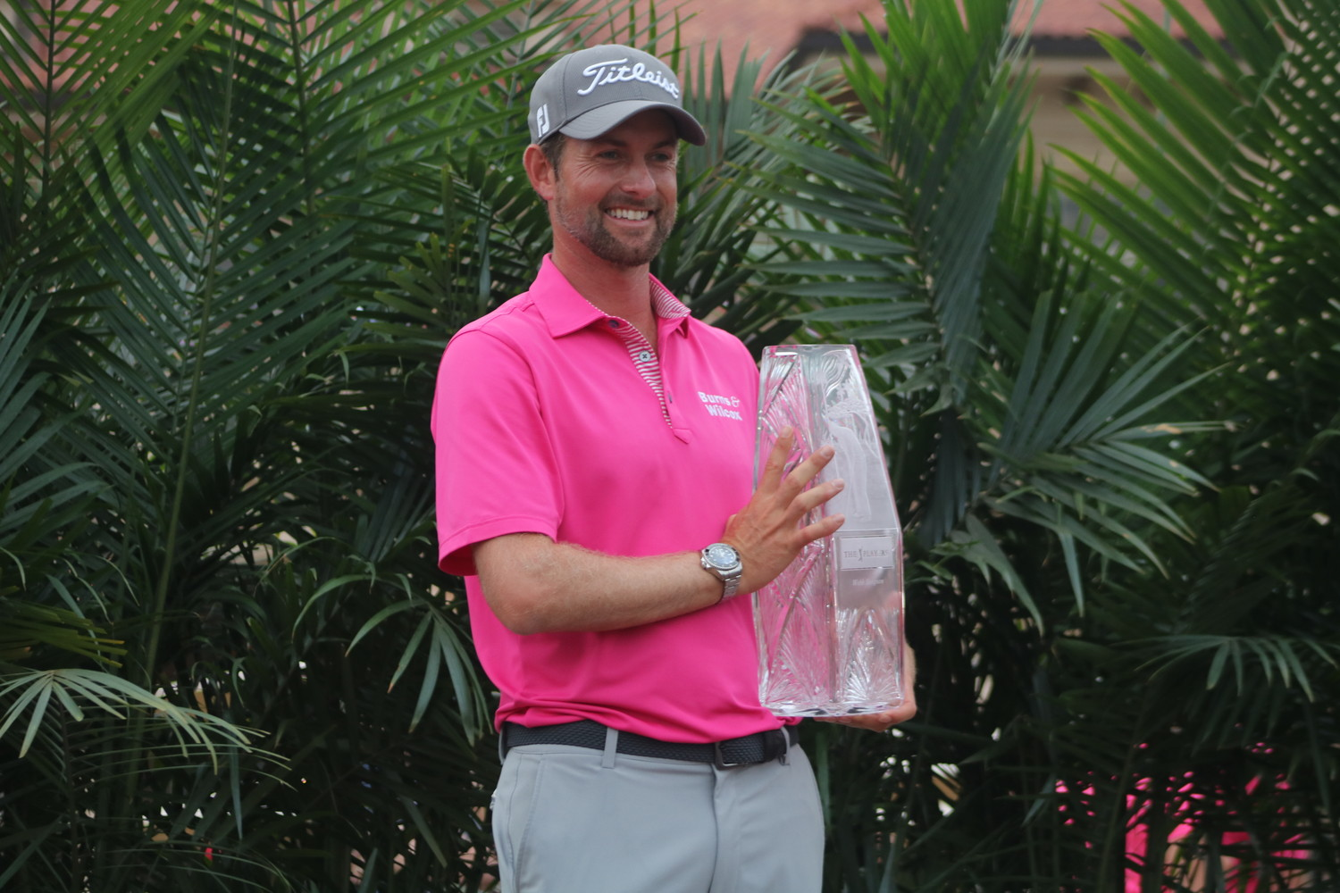Webb Simpson is the winner of THE PLAYERS Championship 2018 after finishing 18-under 270.