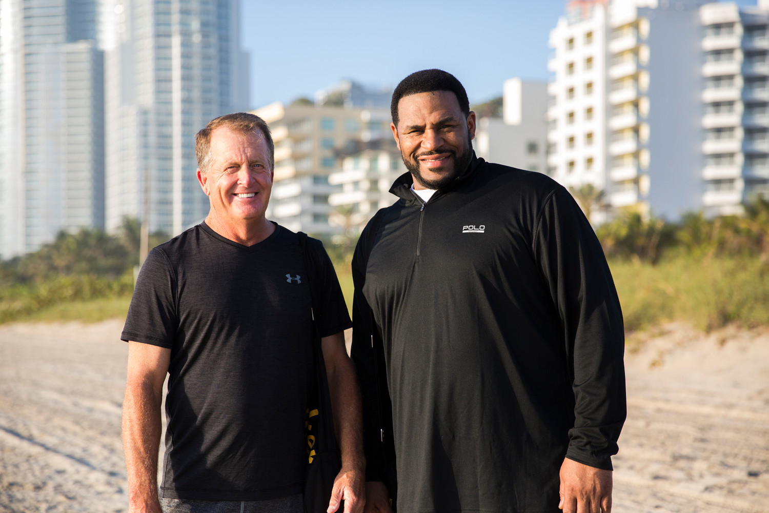 "Fred Funk is partnering with Stryker and Jerome Bettis to communicate the importance of joint health through the ""Get on the Bus"" contests."