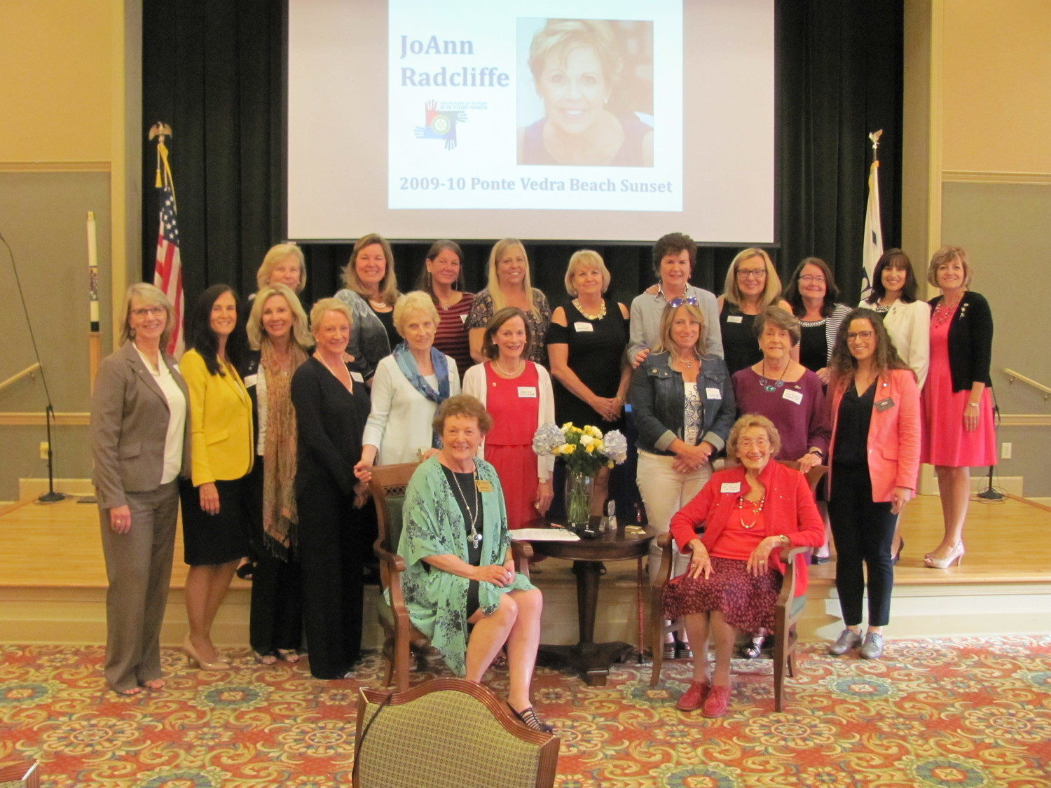 Past and current female presidents and leaders of local Rotary clubs were honored Monday, May 21 at Fleet Landing at an event that celebrated 30 years of women in Rotary.
