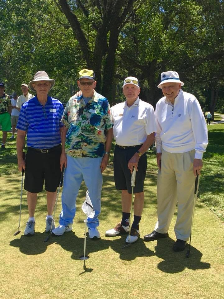 Ken Medley, Harley Wroten, Ted Laveck and Harold Corser