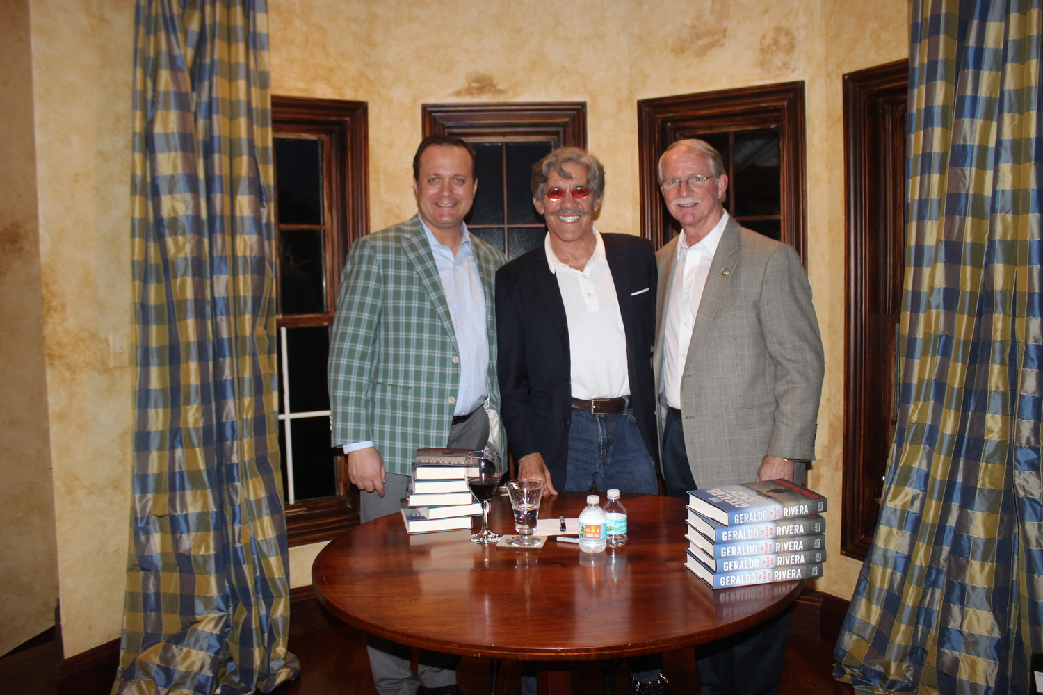 Michael Rutherford, Geraldo Rivera and Rep. John Rutherford
