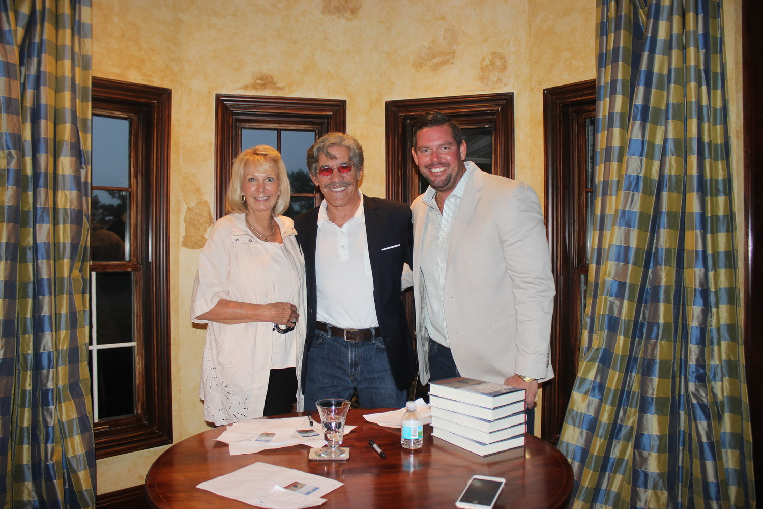 Michelle Floyd, Geraldo Rivera and Jack Floyd