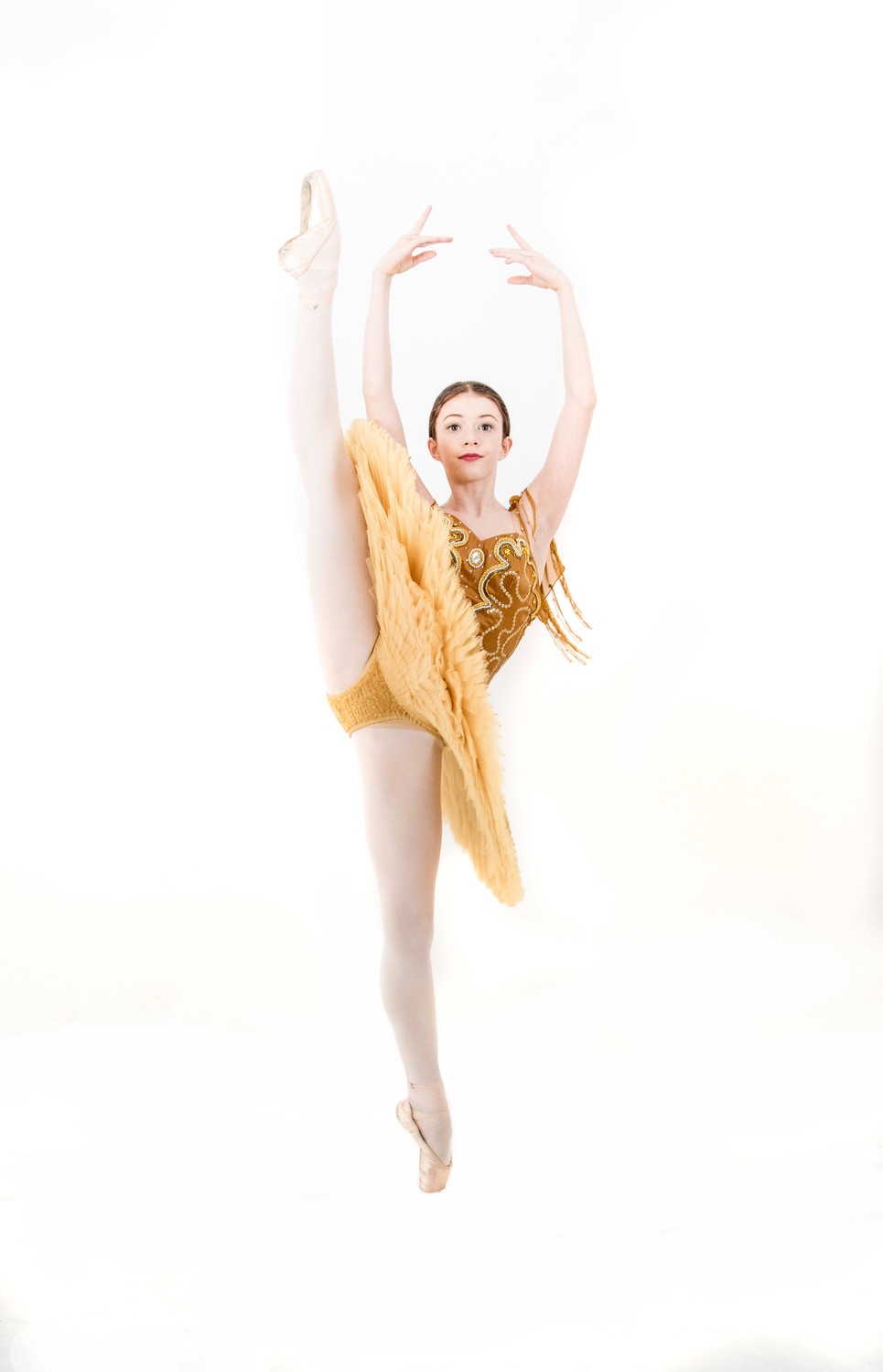 Kieryn Brophy, a 13-year-old student from Ponte Vedra Ballet & Dance Company, recently performed at Hermitage Theatre in St. Petersburg, Russia.