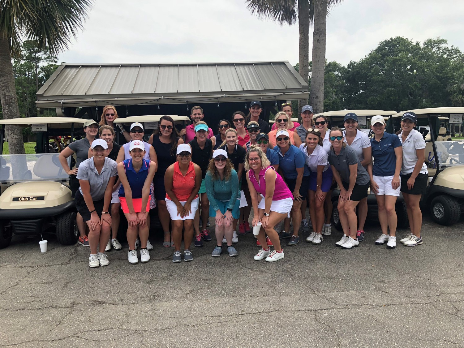 A group of PGA Tour female employees played the Oak Bridge Club at Sawgrass on June 5 to celebrate Women's Golf Day. People all over the world participated in similar events to showcase golf and introduce the game to more women and girls.