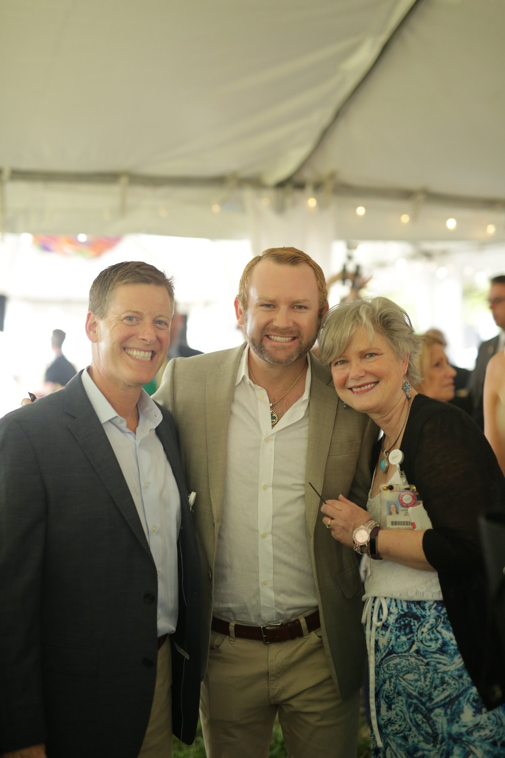 Dr. J. Brett Chafin of Nemours, Josh Henry and Catherine Swanson of Nemours