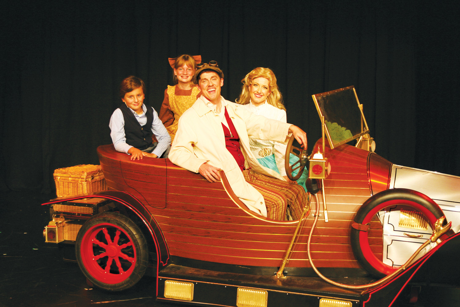 """Chitty Chitty Bang Bang"" is running at the Alhambra Theatre & Dining through July 29."