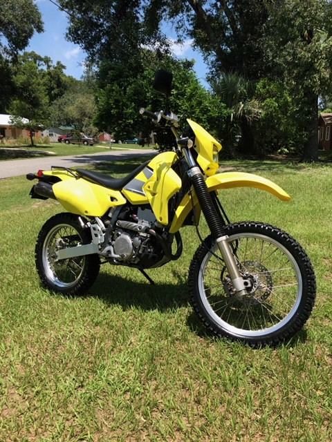 Wagner was last seen on this yellow dirt bike.