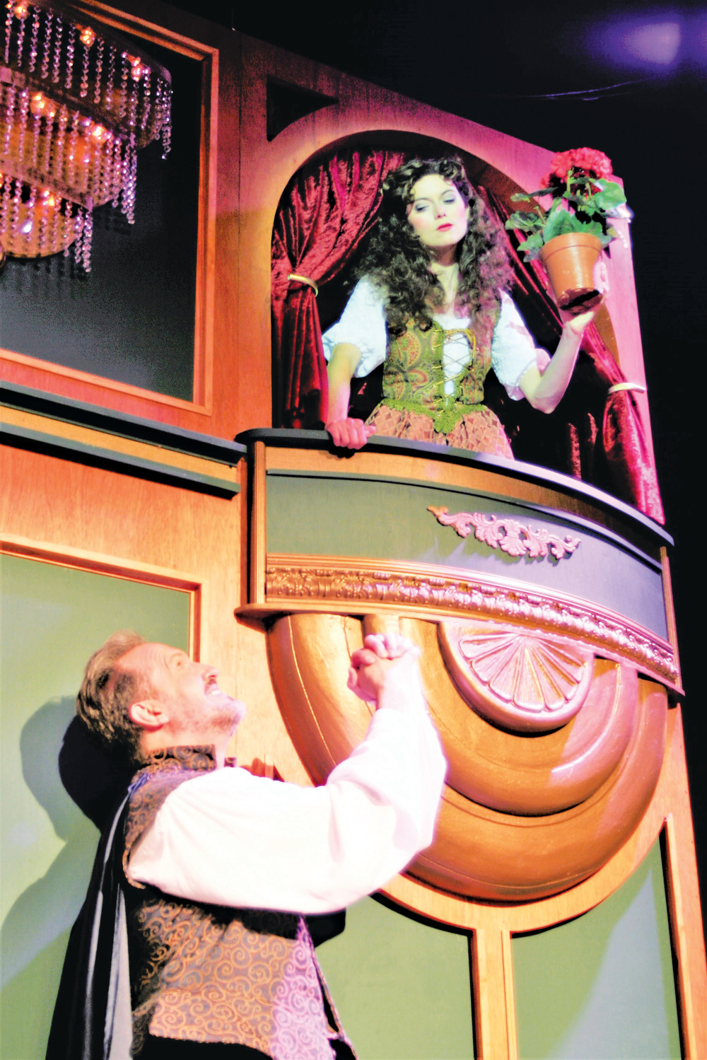 "The classic Broadway musical ""Kiss Me, Kate"" opened last week at the Alhambra Theatre & Dining and will continue its run through Sept. 9."