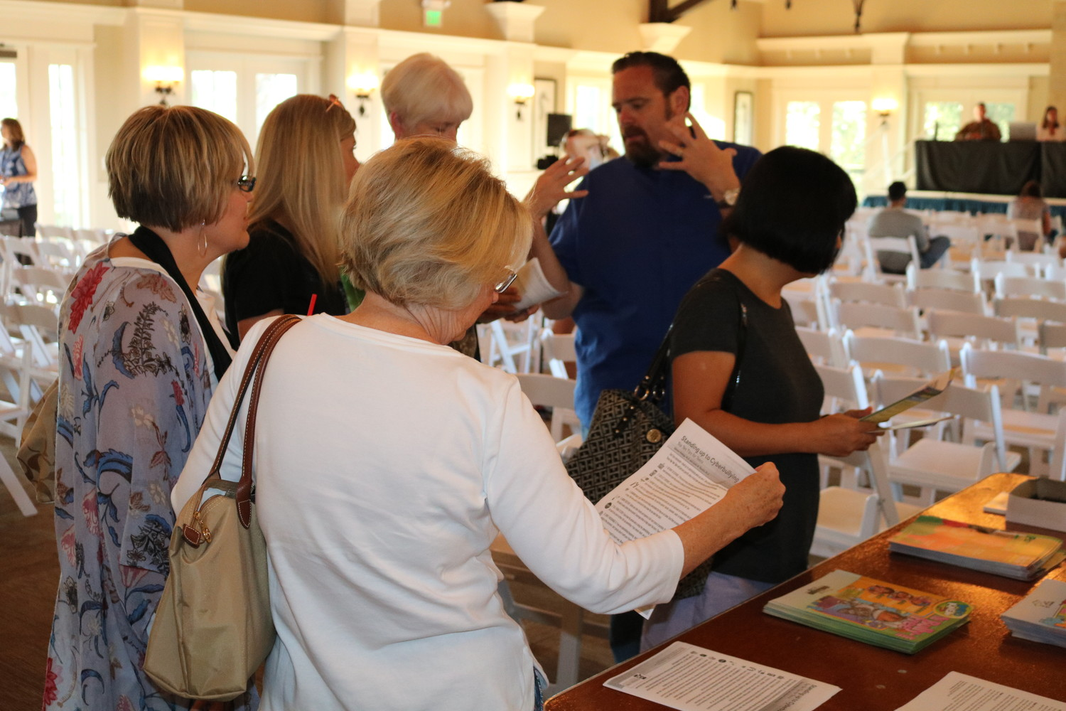 Nocatee residents learn more about the community at Community Resource Day.