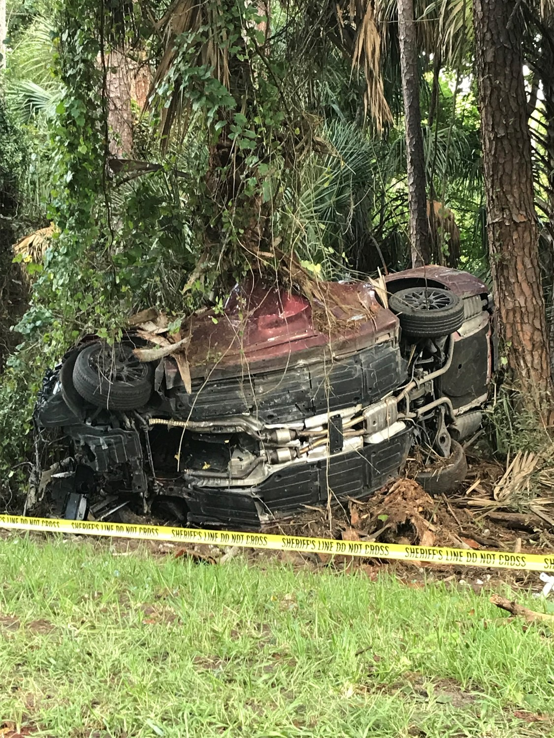 One person is dead after a single vehicle crash took place Monday morning on Solana Road in Ponte Vedra Beach.