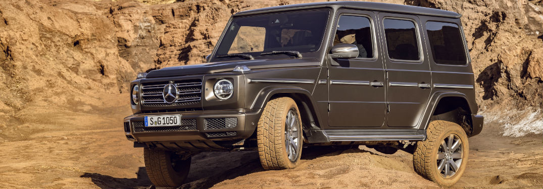 The new Mercedes-Benz G-Wagen