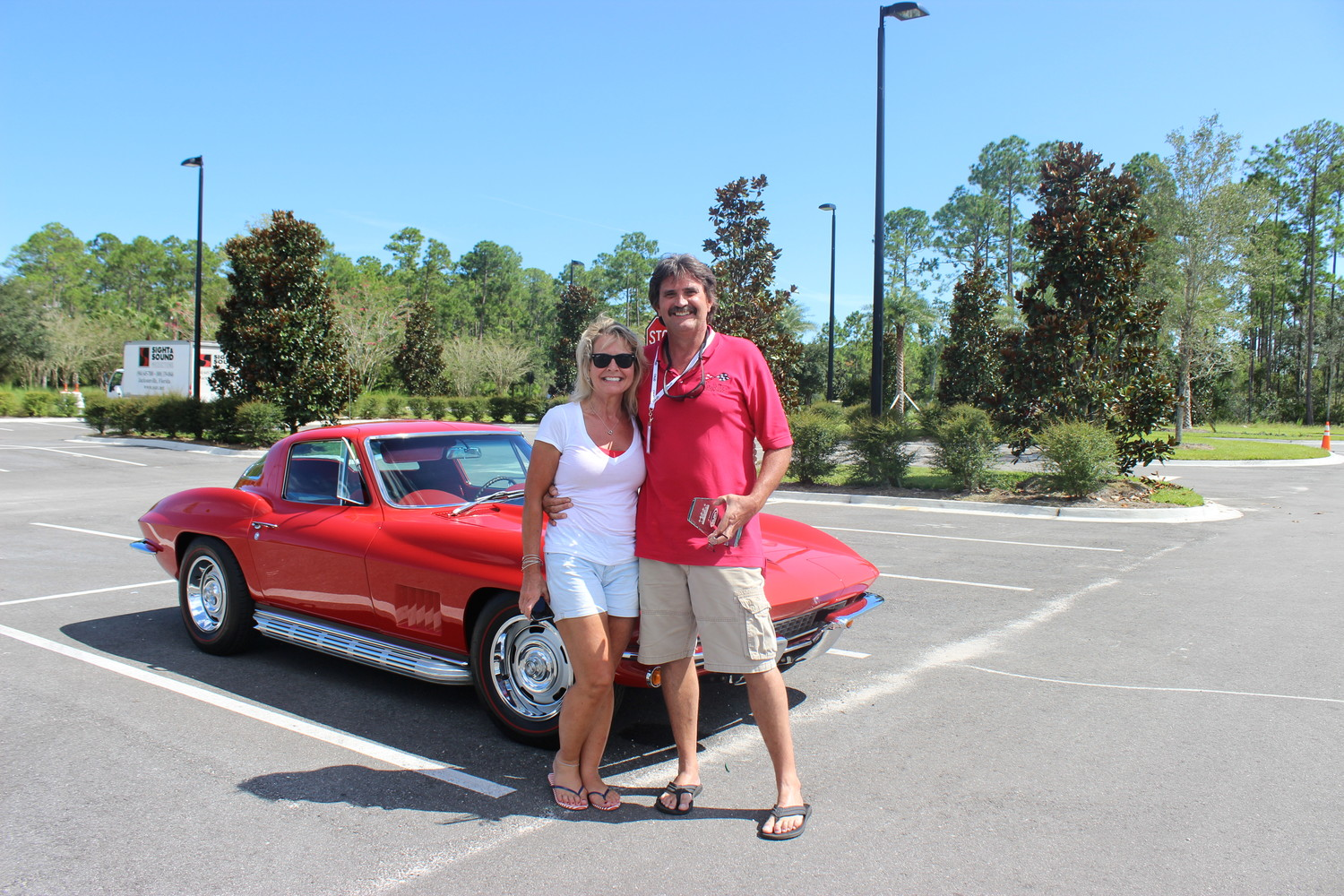 Michael Lucas and his 1967 Chevrolet Corvette was the winner of the Most Outstanding Corvette award, sponsored by EuroSpec.