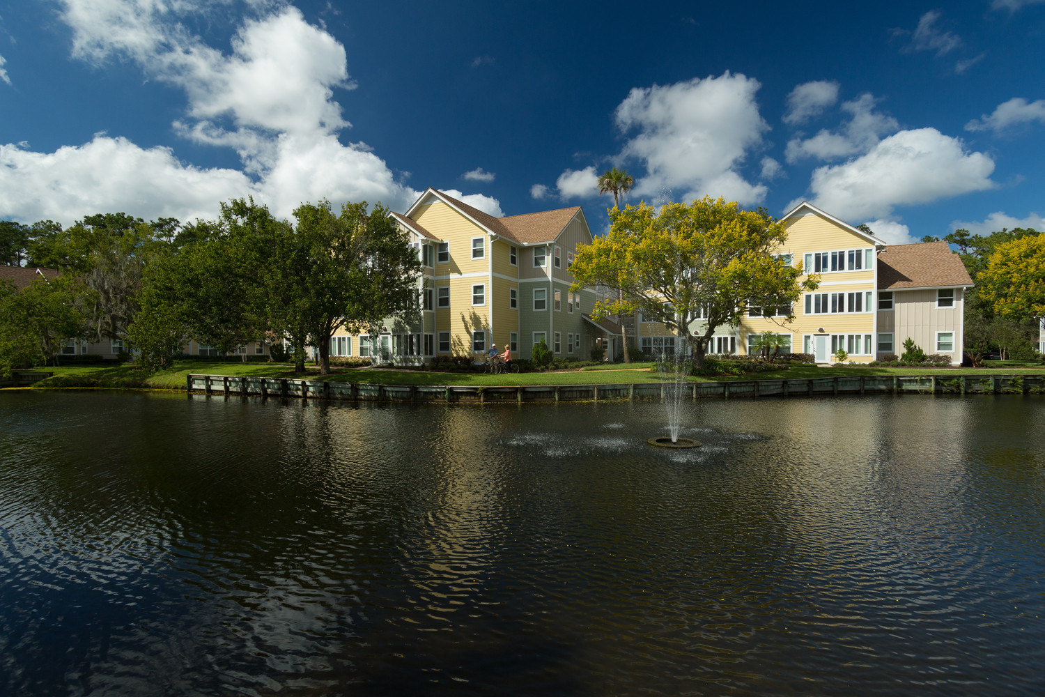 Vicar's Landing is located within the Sawgrass Players Club in Ponte Vedra Beach.