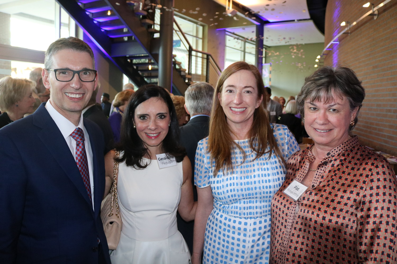 Mayo Clinic President and CEO Gianrico Farrugia with his wife Geraldine, Una Jackman and Pat Noseworthy