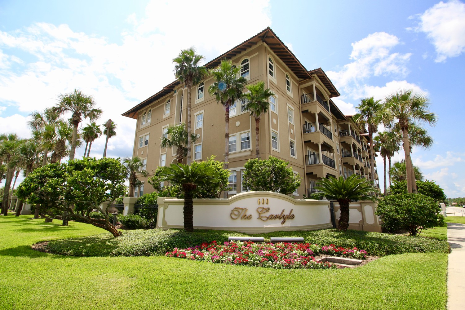 The Carlyle Condos are located at 600 Ponte Vedra Boulevard.