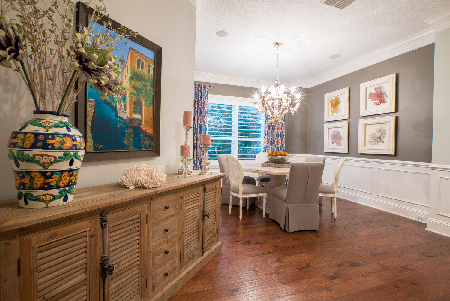 Karen Rothen provides residential and commercial interior design throughout Northeast Florida.