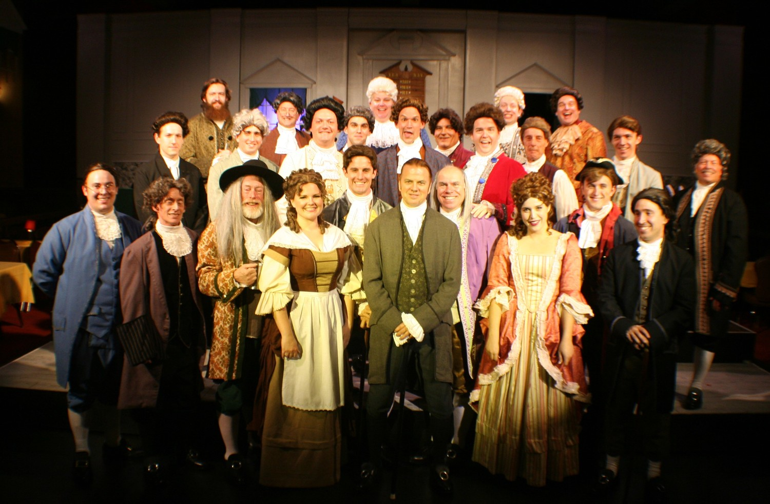 "The hit Broadway musical ""1776"" is now playing at the Alhambra Theatre & Dining and will run through Nov. 18."