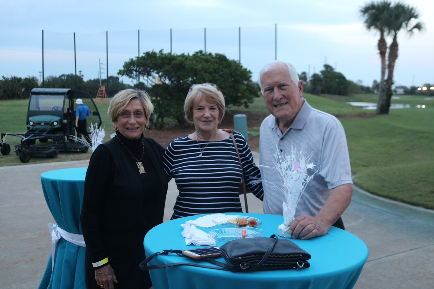 Alaine Brown, Kathy Wiedegreen and Dick Brown