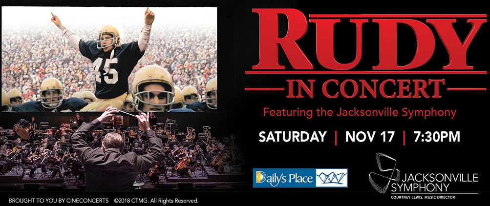 Jacksonville Symphony To Perform World Premiere Of Rudy In Concert