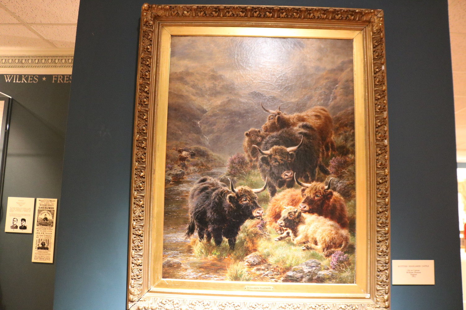 """Scottish Highlands Cattle"" created by William Watson in 1913"