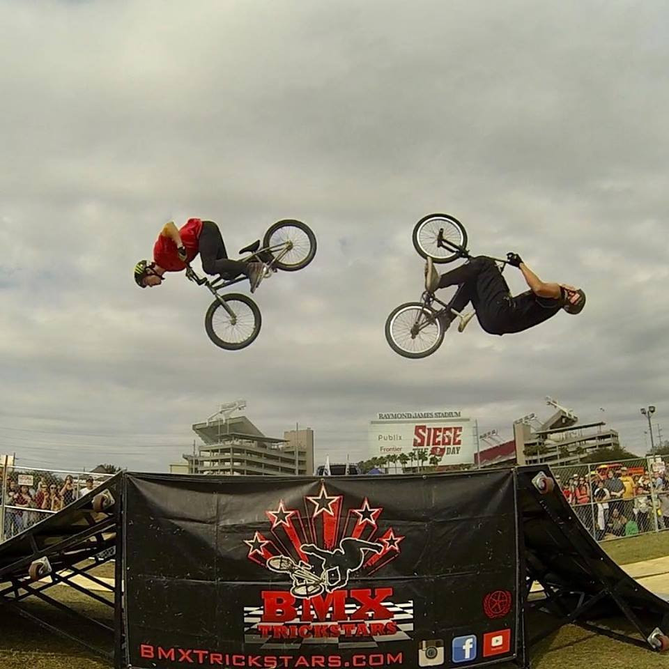 "Chabad at the Beaches' ""Grand Chanukah Celebration"" on Dec. 3 at Watson Realty Corp. will feature a BMX stunt show."