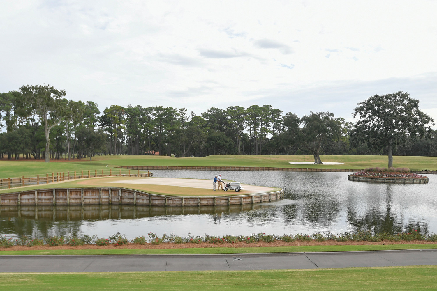 Preparations are well underway at TPC Sawgrass to ensure ideal tournament conditions for THE PLAYERS 2019.
