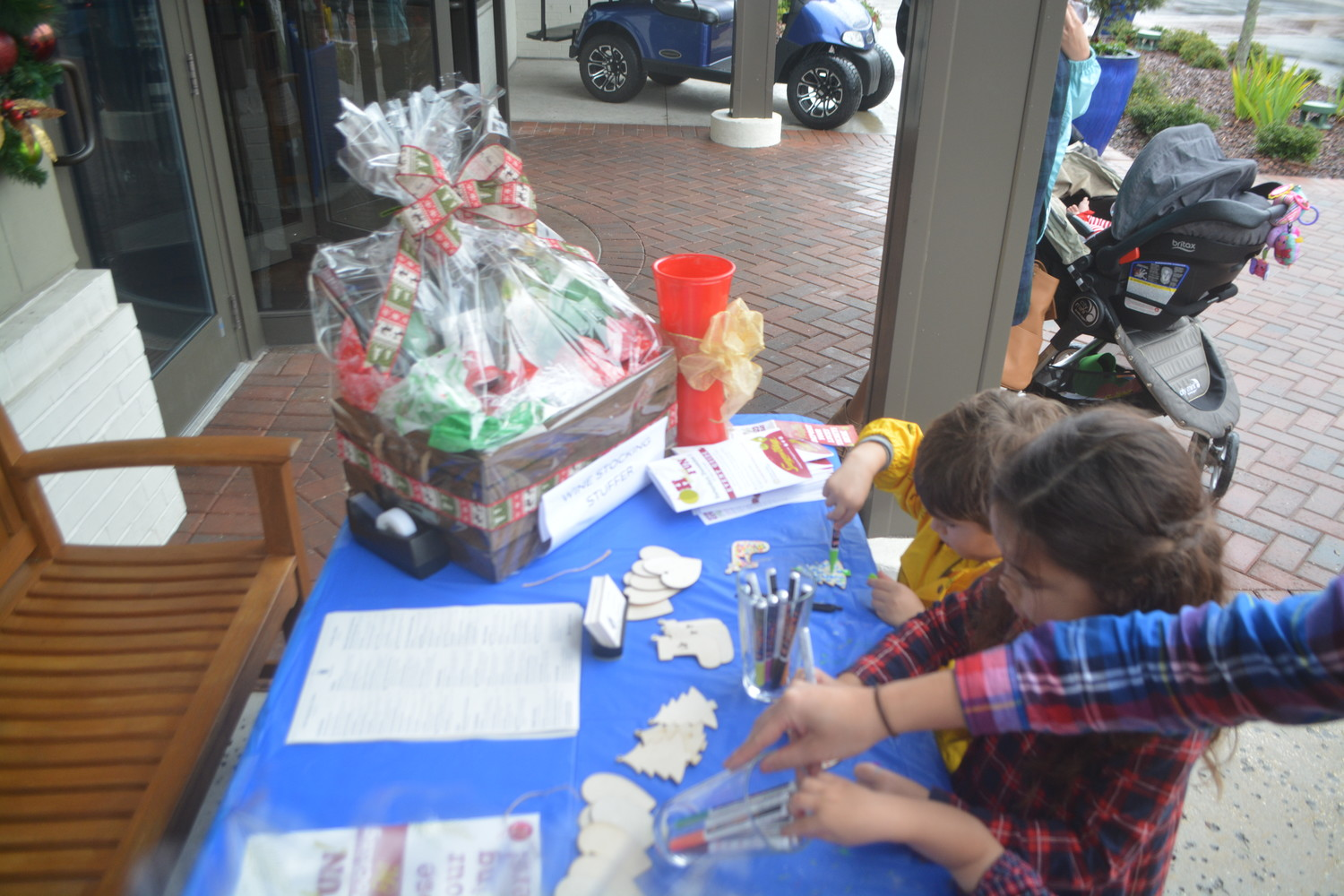 "Children enjoy holiday crafts at the ""Oh What Fun!"" event in Ponte Vedra Beach."