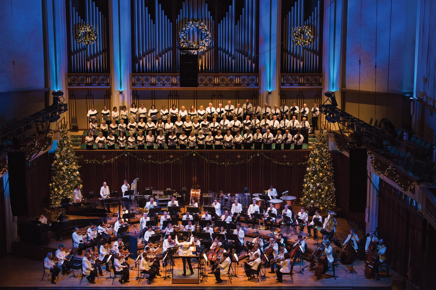 Jacksonville Symphony's Holiday Pops concerts will take place Dec. 6-9 at the Times-Union Center for the Performing Arts in Jacoby Symphony Hall.