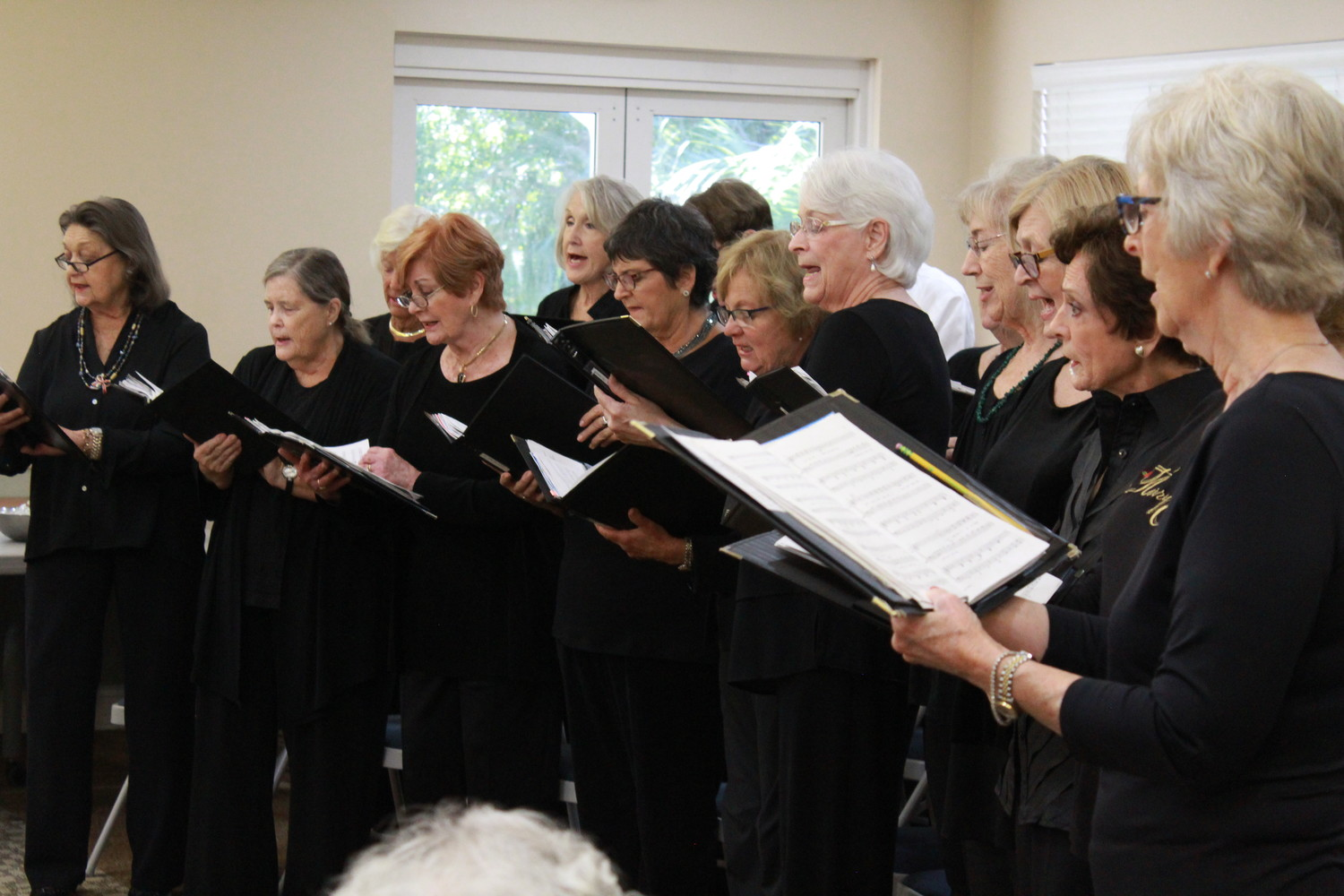 The Sawgrass Singers entertain seniors at THE PLAYERS Community Center.