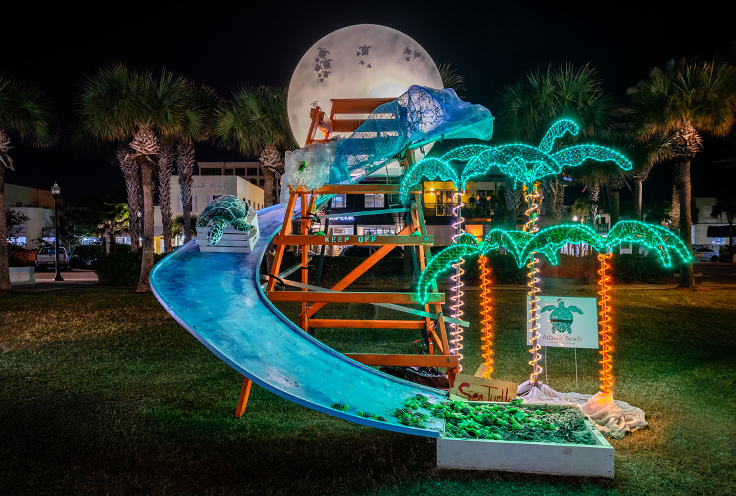 """Follow the Moon"" by Atlantic Beach Country Club was awarded the yellow ribbon."