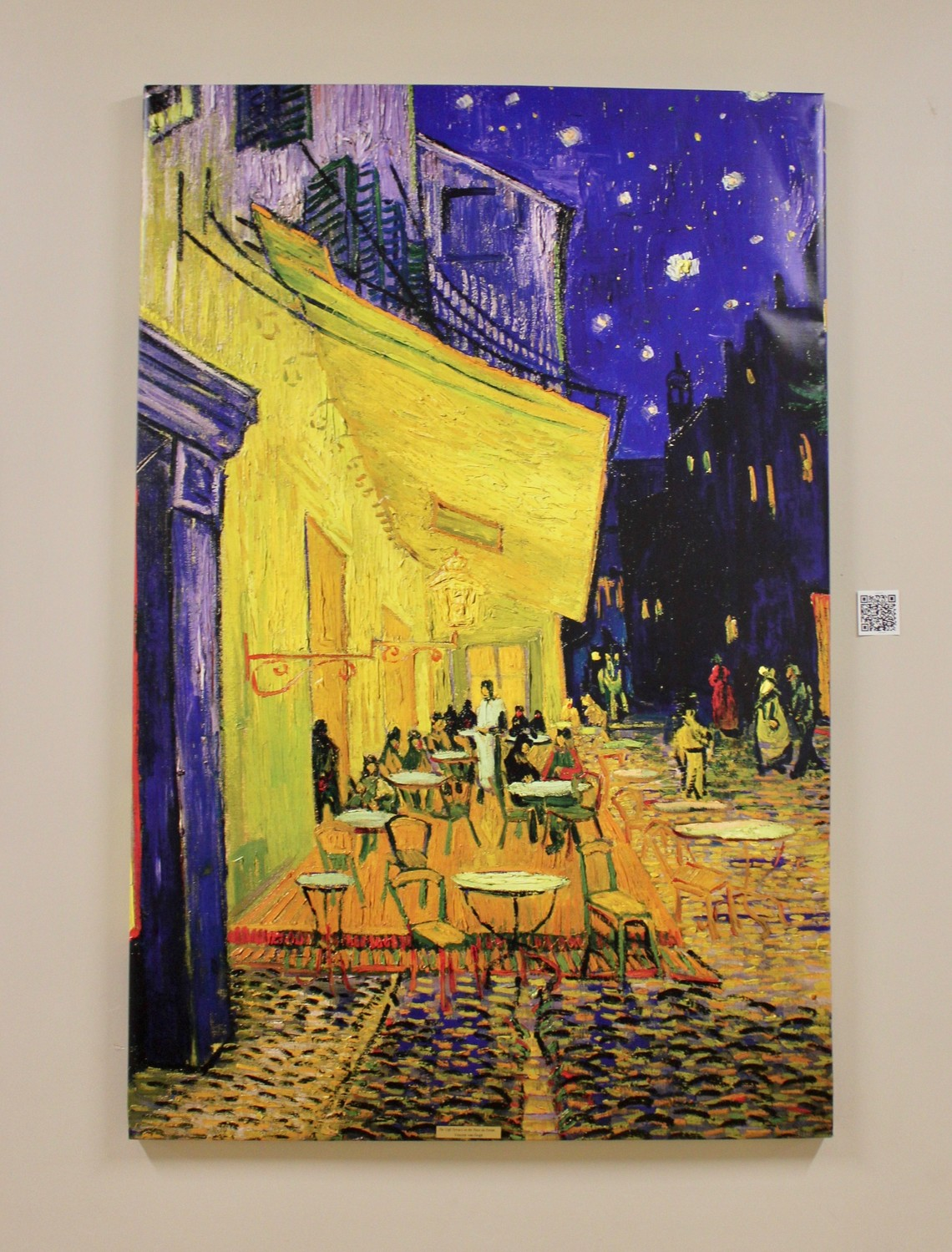 "van Gogh's ""Café Terrace at Night"" at Palm Valley Academy"