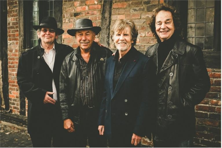 The legendary British Invasion band The Zombies will be inducted into the Rock and Roll Hall of Fame March 29. From left: original band members Chris White, Hugh Grundy, Rod Argent and Colin Blunstone.