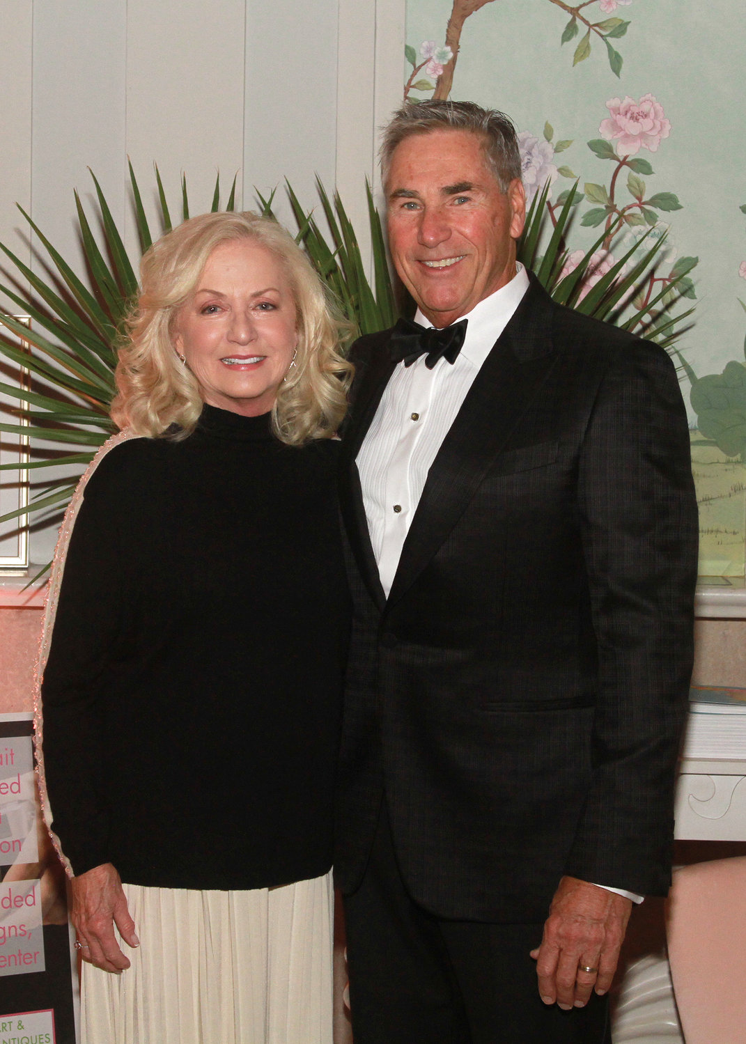 Jim and Angeline Treace attend the 42nd annual Art & Antiques Show gala Nov. 30.