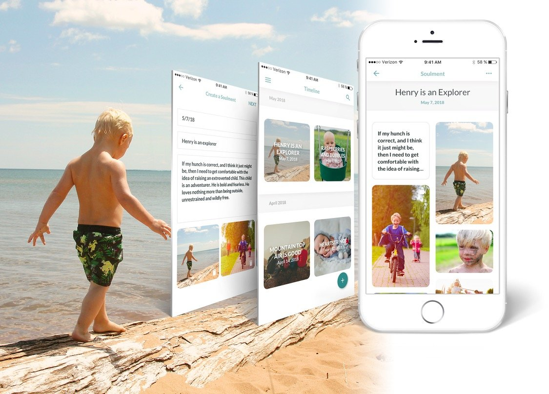 Ponte Vedra resident Katrine Strickland has created Soulments, a mindfulness-based journaling and memory-capturing app designed especially for mothers.