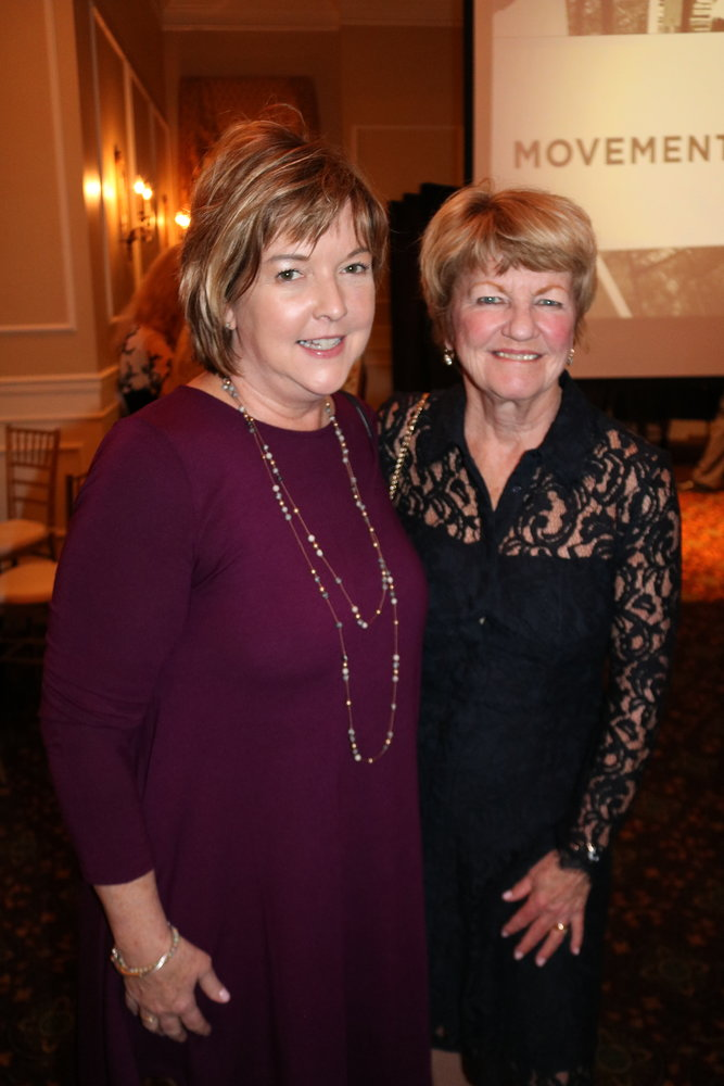 Mary Kelley Kryzwick and Constance Wiecking