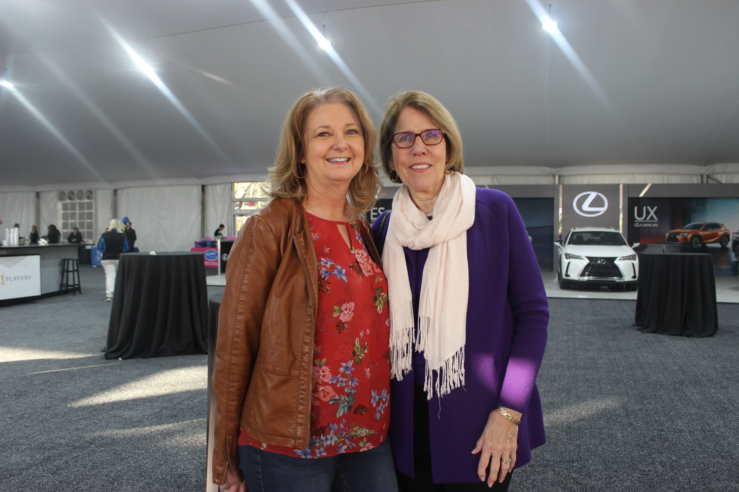 Kelley Bost and Nancy Russell